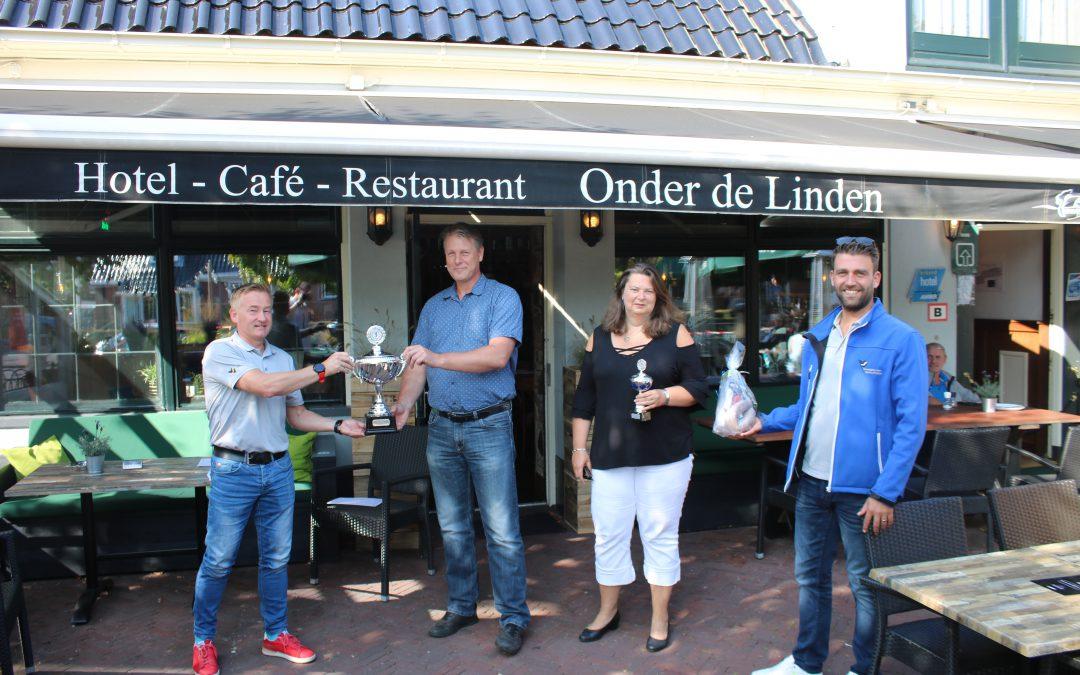 Familie Everts winnaar van de Auto Oriënteringsrit